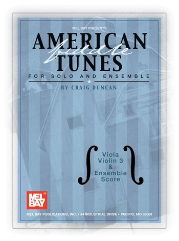 American Tunes: for strings and piano score and parts for viola (melody),