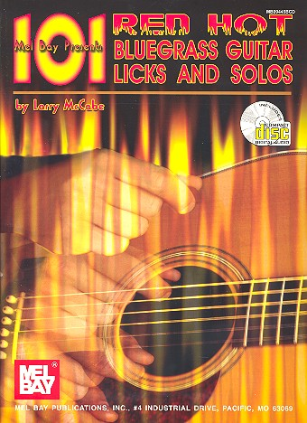 101 Red Hot Bluegrass Guitar Licks and Solos (+CD)