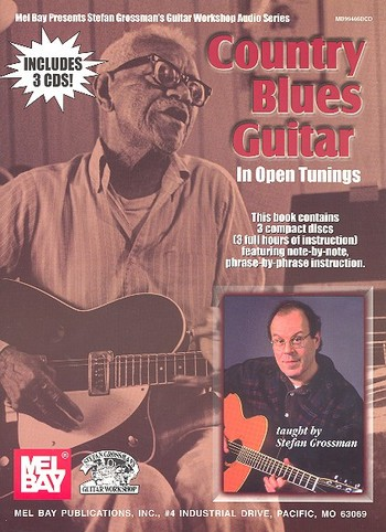 Country Blues Guitar in Open Tunings (+3 CD\