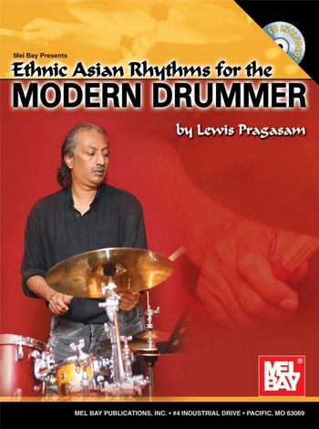 Ethnic Asian Rhythms for the modern Drummer: Chart (+CD): for drum set