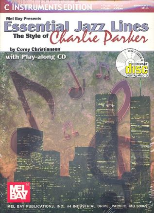 Essential Jazz Lines (+CD): The Style of Charlie Parker