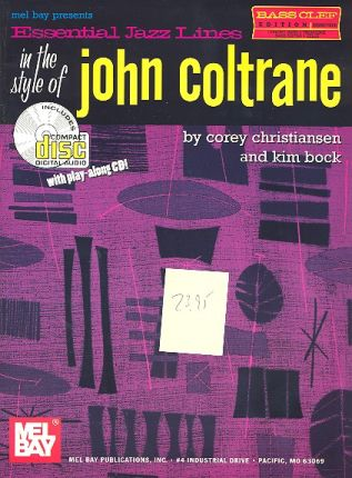Essential Jazz Lines in the Style of John Coltrane (+CD): for