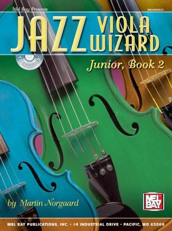 Jazz Viola Wizard Junior vol.2 (+CD): for violin