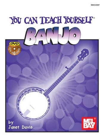 You can teach yourself Banjo (+DVD)