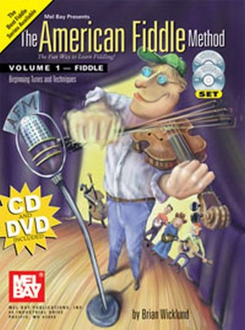 The American Fiddle Method vol.1 (+DVD +CD): for violin