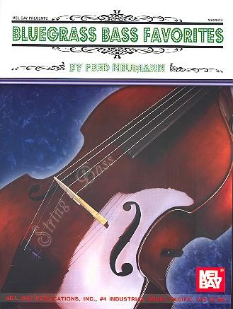 Bluegrass Bass Favorites: for double bass