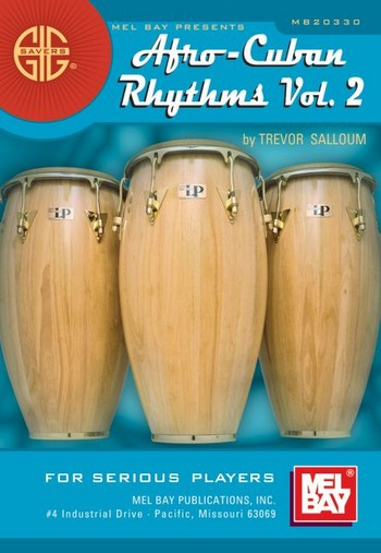 Afro-Cuban Rhythms vol.2: a basic guide suitable for percussion ensemble