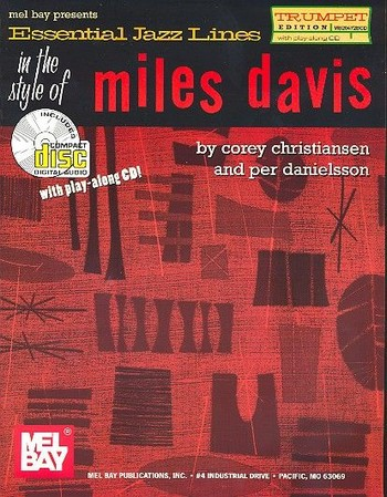 Essential Jazz Lines in the style of Miles Davies (+CD): for trumpet