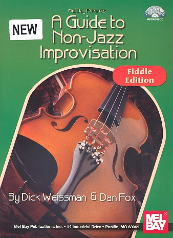 A Guide to Non-Jazz Improvisation (+CD): for fiddle (violin)
