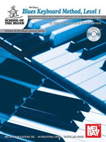 Blues Keyboard Method vol.1 (+CD): for piano, organ and keyboard