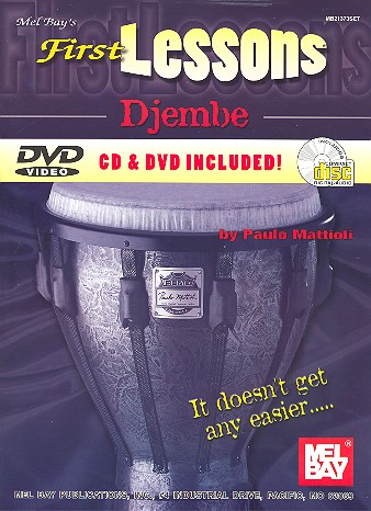 First Lessons (+Download-Card): for djembe