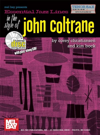 Essential Jazz Lines in the Style of John Coltrane (+CD): for tenor saxophone