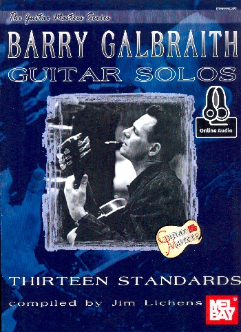 Barry Galbraith Guitar Solos (+Online Audio): for guitar/tab