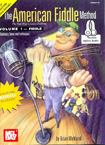 The American Fiddle Method vol.1 (+Online Audio): for violin