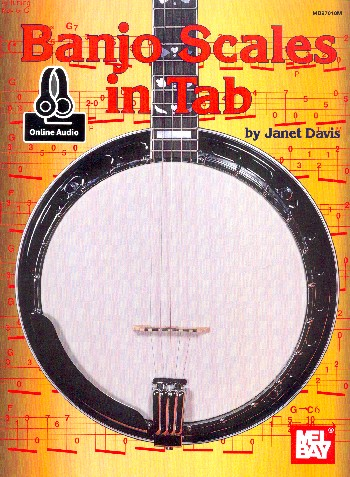 Banjo Scales in Tab (+online Audio Access): for 5-string banjo