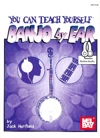 You can teach yourself Banjo by Ear (+Online Audio Access):