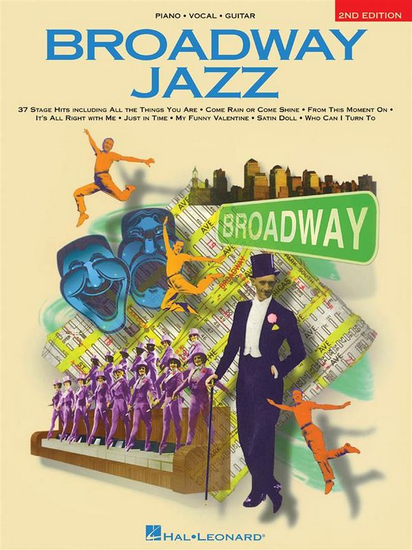 Broadway Jazz: 35 Stage Hits piano/vocal/guitar