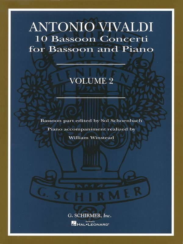 10 Concerti vol.2: for bassoon and piano
