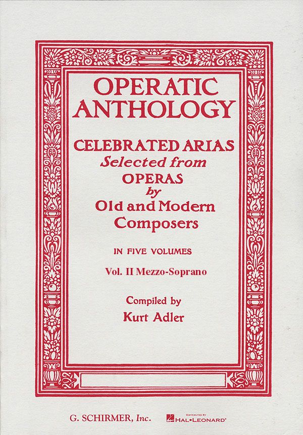 - Operatic Anthology vol.2 : for