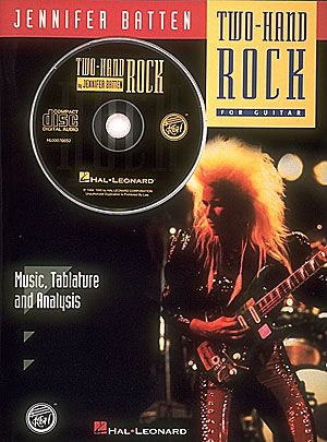 Two-Hand Rock (+CD): for guitar music, tablature and analysis
