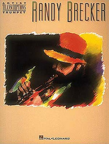 Randy Brecker: Songbook for trumpet solo with accord symbols