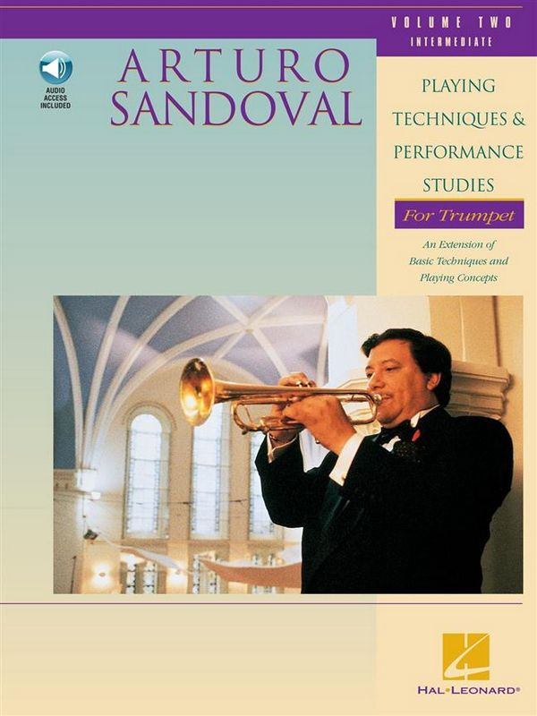 PLAYING TECHNIQUES AND PERFORMANCE STUDIES VOL.2 (+CD): FOR TRUMPET