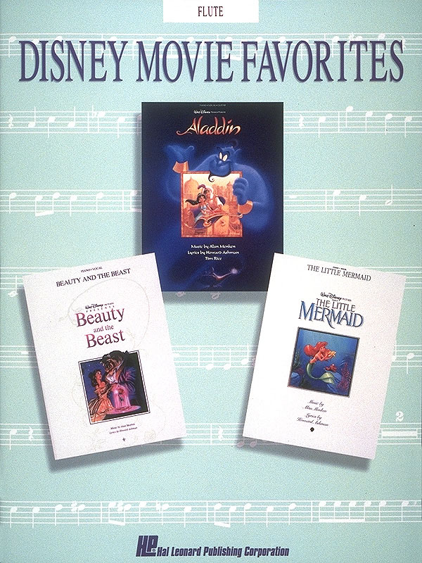 Disney Movie Favorties: Songbook for flute