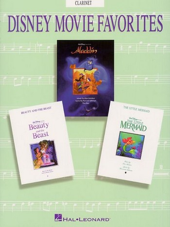 Disney Movie Favorites: Songbook for clarinet