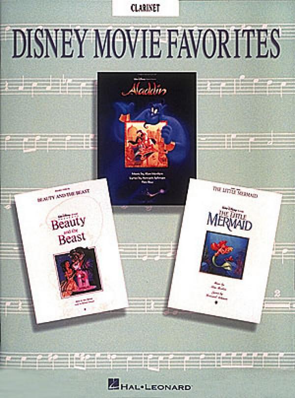 Disney Movie Favorites: Songbook for clarinet
