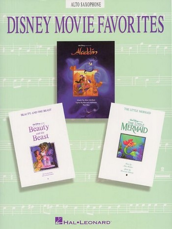 Disney Movie Favorites: Songbook for alto saxophone