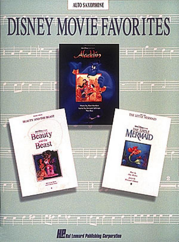 Disney Movie Favorites: Songbook for alto saxophone