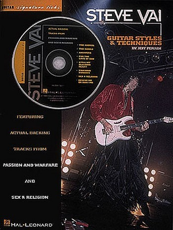 Steve Vai (+CD): guitar styles and techniques