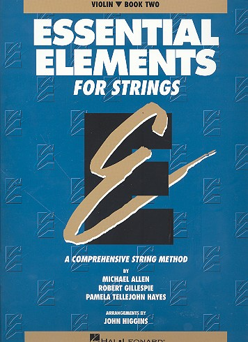 Essential Elements vol.2: for strings violin