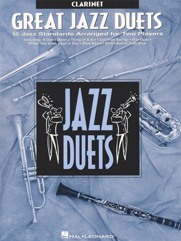 Great Jazz Duets: for 2 clarinets score