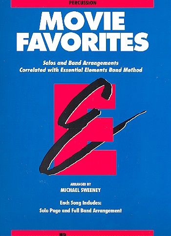 Movie Favorites: for band percussion