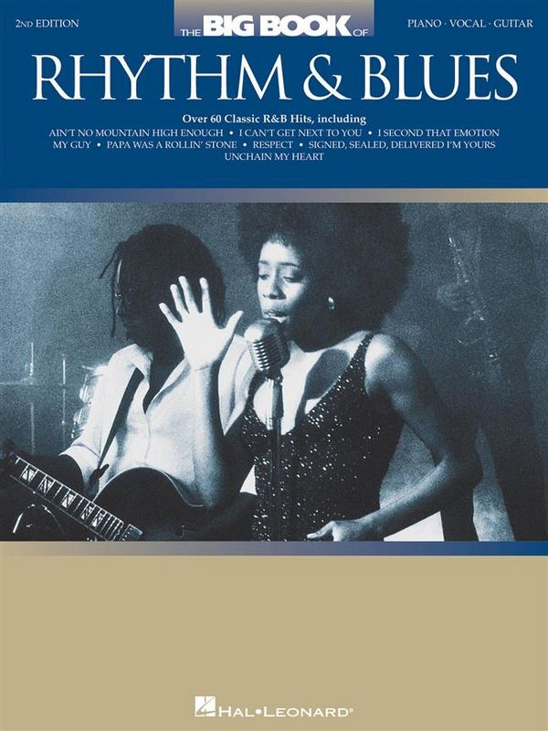 The big Book of Rhythm & Blues Songbook piano/vocal/guitar