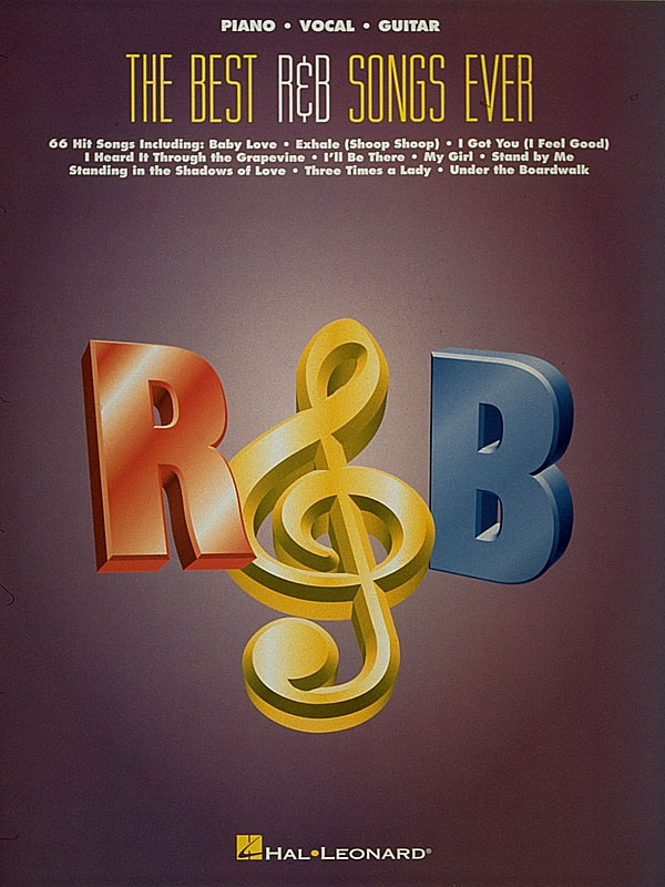 Best R&B Songs ever: songbook piano/vocal/guitar
