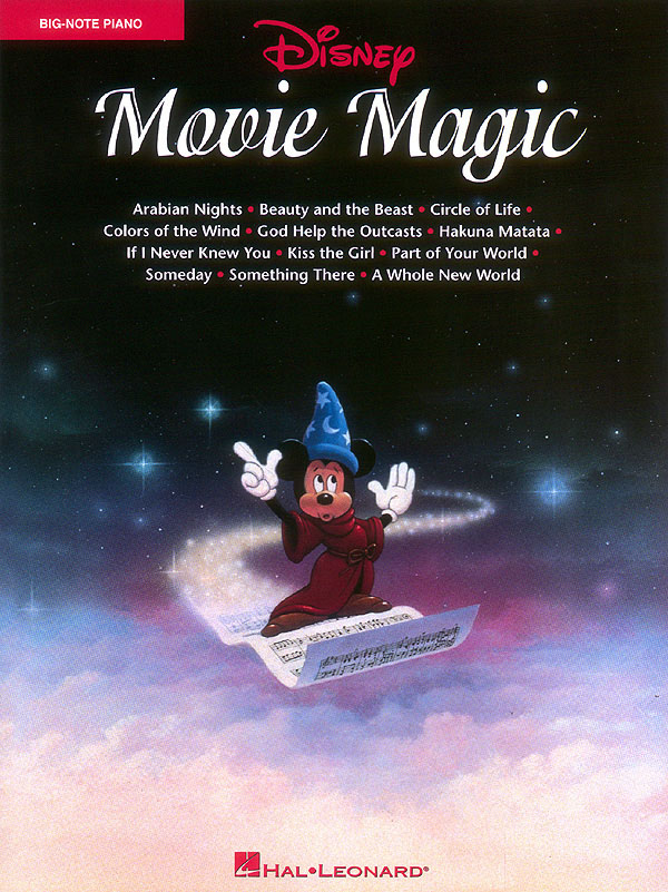 Disney Movie Magic: songbook for big-note piano