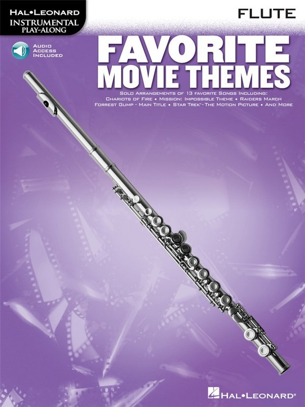 Favorite Movie Themes (+Audio Access): Songbook for flute