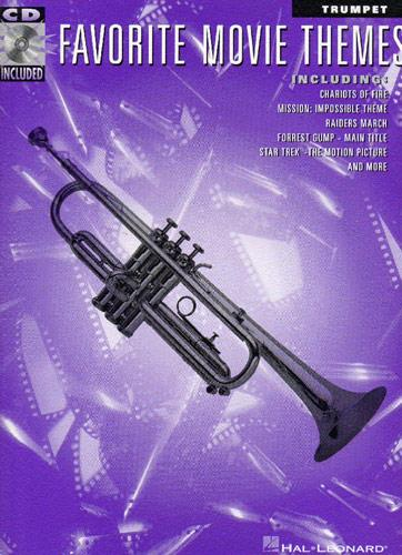 Favorite Movie Themes (+Audio Access): Songbook for trumpet