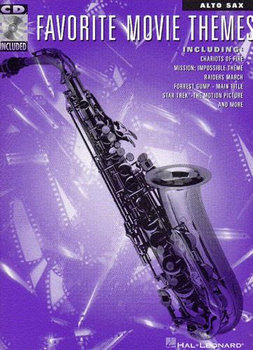 Favorite Movie Themes (+Audio Access): Songbook for alto sax