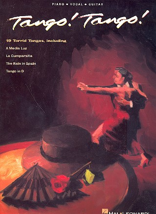 Tango Tango: 19 torrid tangos for piano/voice/guitar