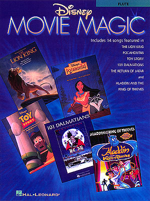 Disney Movie Magic: Songbook for flute solo