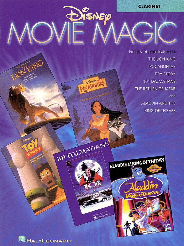 Disney Movie Magic: Songbook for clarinet solo