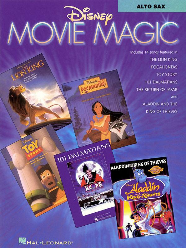 Disney Movie Magic: Songbook for Alto Sax solo