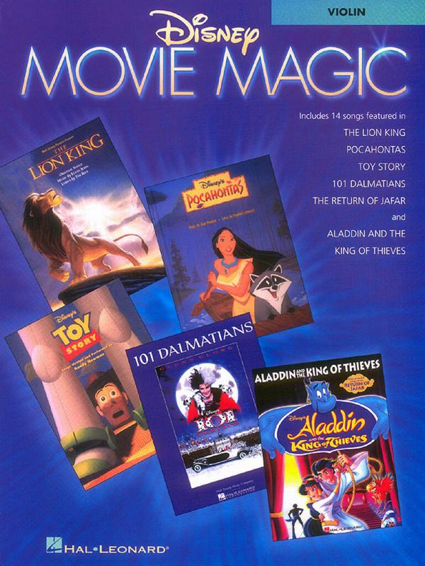 Disney Movie Magic: for violin