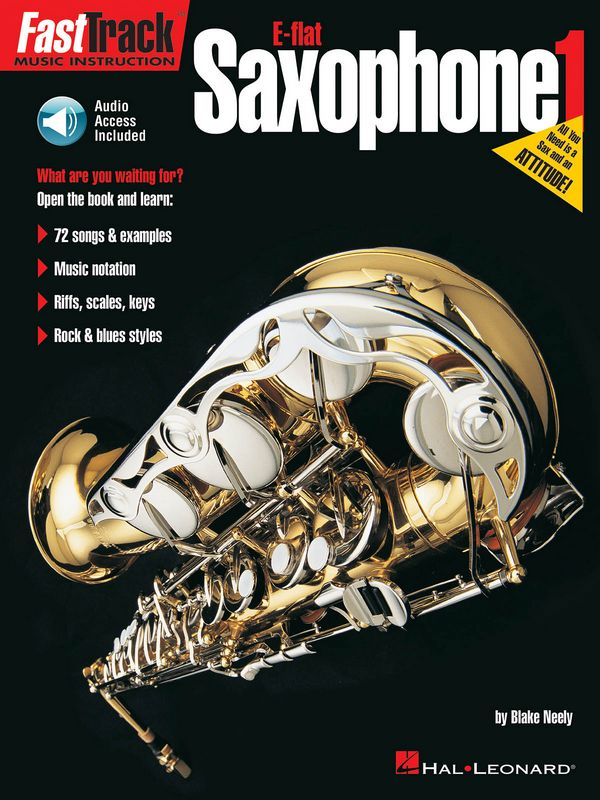 Fast Track Music Instruction (+CD): saxophone E flat 1