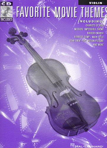Favorite Movie Themes (+CD): for violin