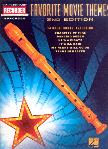 Favorite Movie Themes: for recorder