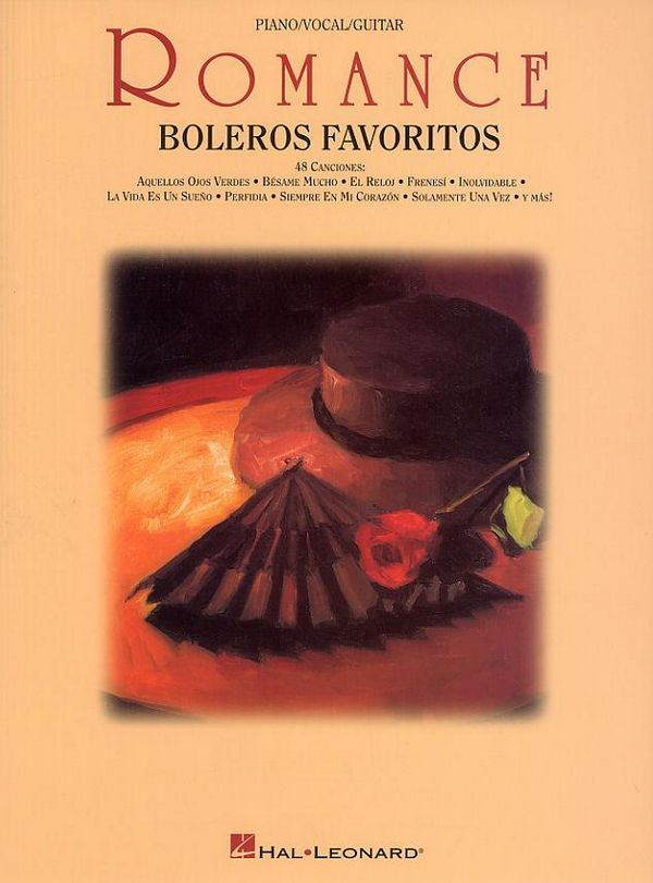 Romance: Boleros Favoritos 48 canciones for voice/piano/guitar